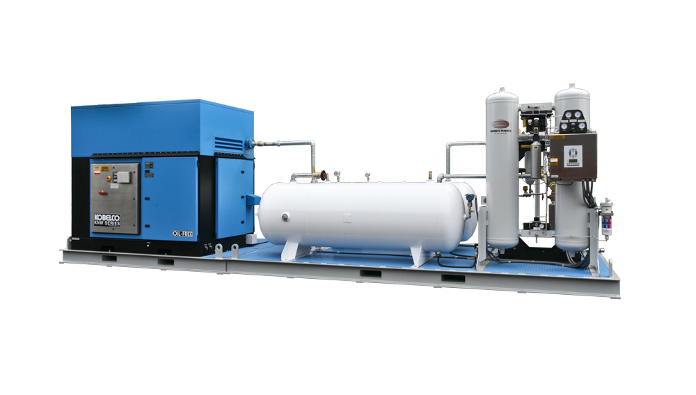 Mining Industry - Common skid with horizontal tanks