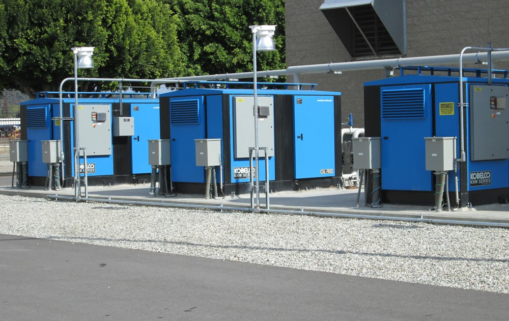 Power Generation - outdoor - water-cooled
