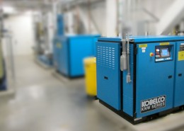 Pharmaceutical customer - water cooled - lead-lag