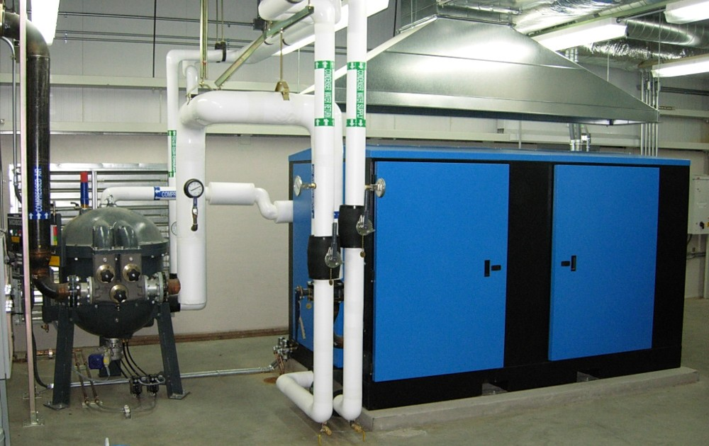 Aerospace customer - mated with drum dryer