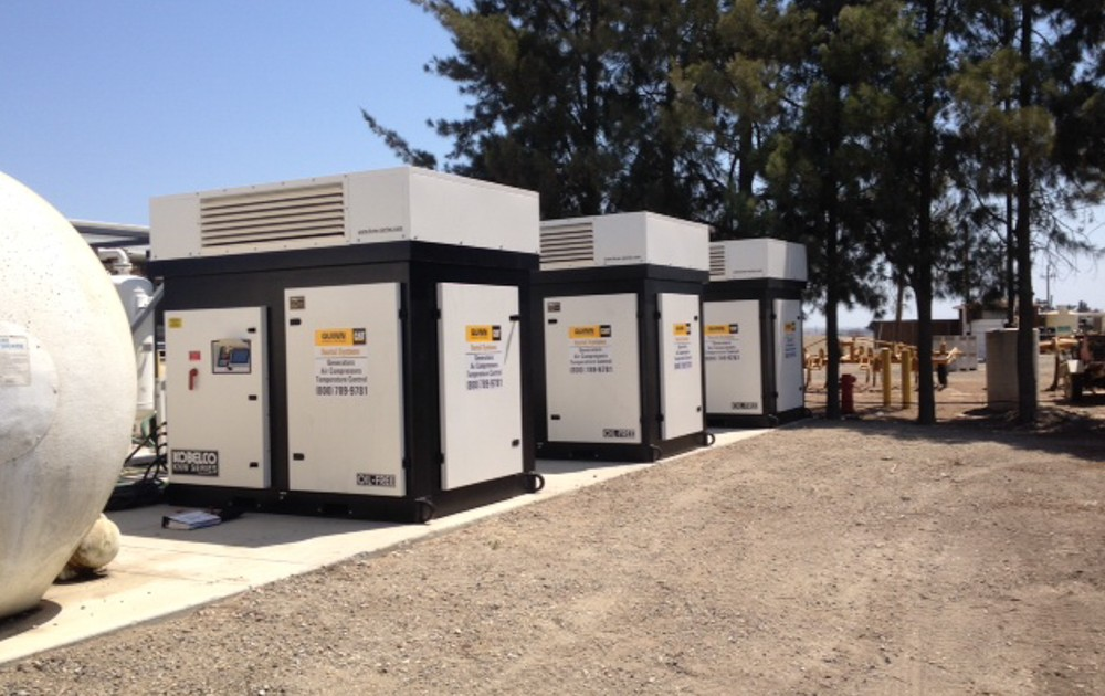 Rental industry - outdoor model - air cooled