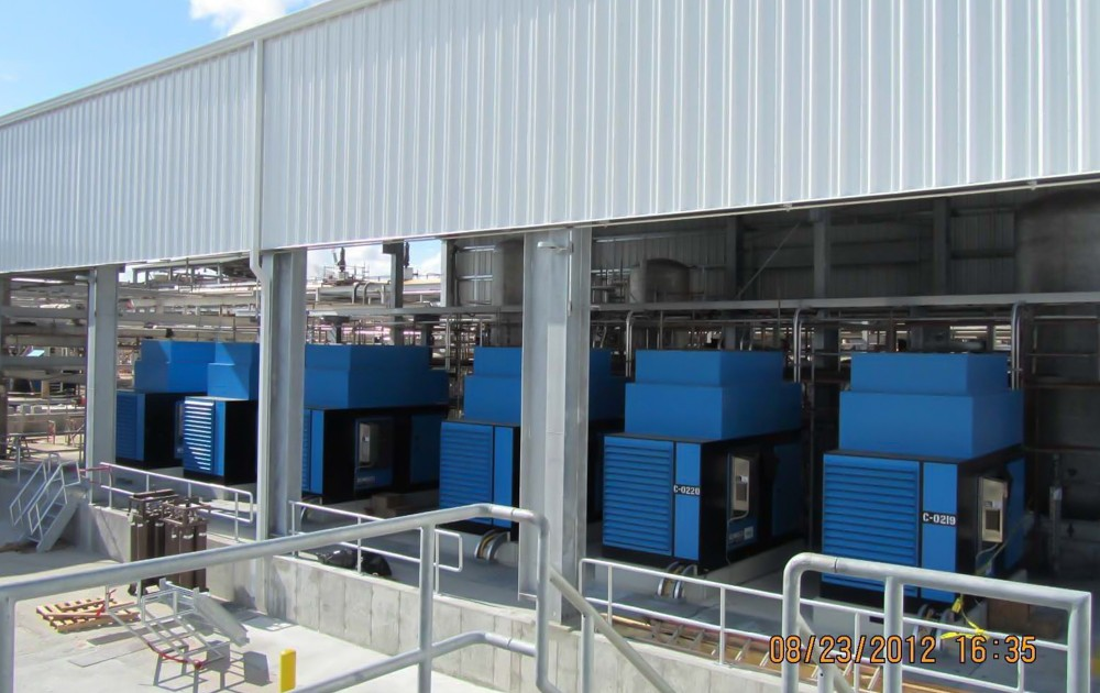 Chemical industry - air cooled - outdoor